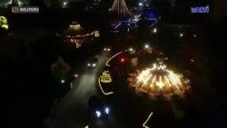 Alemania se las ingenia para disfrutar de Santa Claus en tiempos de pandemia