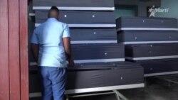Funeraria La Moderna en La Habana.