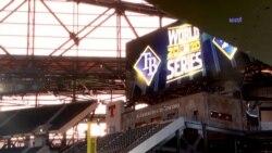 La serie mundial de beisbol empieza esta noche entre los Ray de Tampa y los Dodgers de los Ángeles