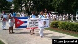 Reporta Cuba. Campaña Todos Marchamos. Foto: Ángel Moya.