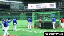 Cubanos peloteros en Japón