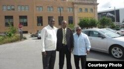 Juan Antonio Madrazo, Manuel Cuesta Morúa y Leonardo Calvo, activistas por la integración racial en Cuba