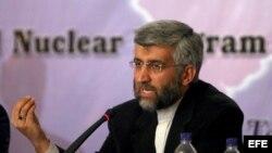 Said Jalili, negociador nuclear iraní.