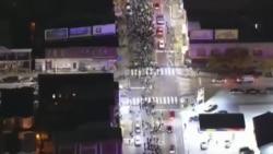 Protestas contra violencia policial terminan en violentos disturbios y saqueos