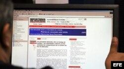 Informe de RSF. Foto de archivo
