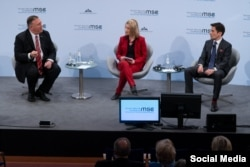 Conferencia de Munich 2020 con Mike Pompeo
