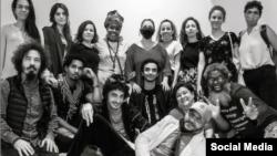 Artistas e intelectuales miembros del Movimiento San Isidro y del #27N.