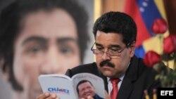 Fotografía cedida por la Presidencia de Venezuela el 2 de septiembre de 2014, que muestra al mandatario venezolano, Nicolás Maduro.