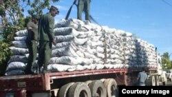 Decomiso de productos en Operación Maya II, realizada por la Interpol.