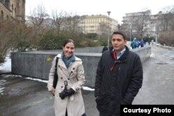 Yoani Sánchez y Eliecer Avila se encuentran en Praga