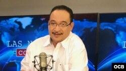 Aníbal Toruño, periodista nicaragüense, habla para el programa Las Noticias como son, de Radio Martí.