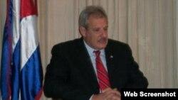 Juan Astiazarán, el embajador de Cuba en República Dominicana.