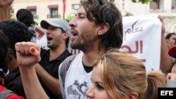 Protestantes tunecinos