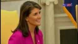 Nikki Haley, embajadora de EEUU ante la ONU, renunció a su puesto