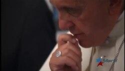 El papa Francisco se enfoca en la visita a Cuba
