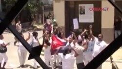 Arrestan a alrededor de 26 Damas de Blanco en domingo 145 de Todos Marchamos