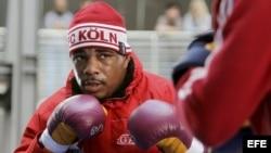 El boxeador cubano Odlanier Solis. EFE/ROLF VENNENBERND
