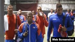 Peloteros cubanos en la Liga Can-Am.