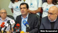 Alfredo Romero, director de la ONG Foro Penal Venezolano