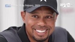 El afamado golfista Tiger Woods sufrió un serio accidente automovilístico en California