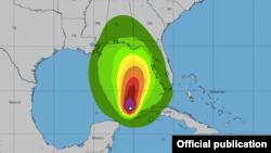 Mapa de tormenta tropical ETA. https://www.nhc.noaa.gov/