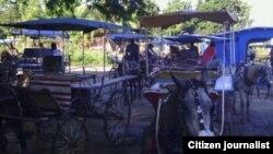 Reporta Cuba transporte en Manzanillo. Foto: Rudicel Batista.