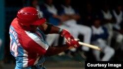 Derby de jonrones Cuba 2014. Campeón Alfredo Despaigne.