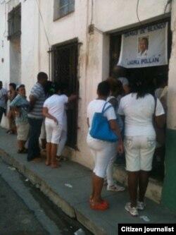 Exteriores de la sede Damas de Blanco. Foto: María Cristina Labrada.