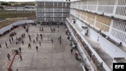Vista general del patio de la prisión Combinado del Este, en La Habana. (Archivo)