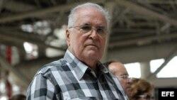 El activista cubano Elizardo Sánchez, portavoz de la Comisión de Derechos Humanos y Reconciliación Nacional (CCDHRN).