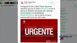Tribunal de Perú ordena que Fujimori sea procesado por matanza de campesinos