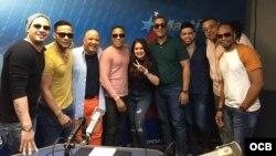 """1800 Online con """"Chiquito Team Band"""", la orquesta más popular de salsa dominicana"""