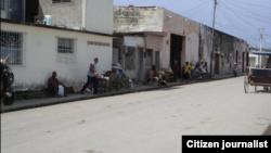 Reporta Cuba Un área de venta de cuentapropistas en Colón. Foto: @ivanlibre.