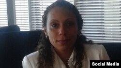 Kirenia Yalit Núñez, coordinadora de la Mesa de Diálogo de la Juventud Cubana (independiente). (FACEBOOK).