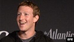 El fundador y director ejecutivo de Facebook Mark Zuckerberg