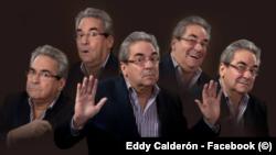 Eddy Calderón, irreverente humorista e imitador cubano (Imagen de su perfil en Facebook).