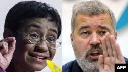 Los periodistas María Rezza (Filipinas) y Dmitri Muratov (Rusia) Permio Nobel de la Paz 2021