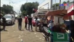 México: Así pernoctan migrantes cubanos en Tapachula
