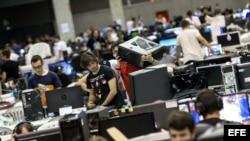 """Foto Archivo. Festival de ocio digital """"Dreamhack"""", la mayor cita de los videojuegos competitivos de España."""