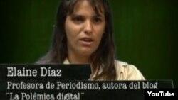 "Elaine Díaz en ""Razones de Cuba"""