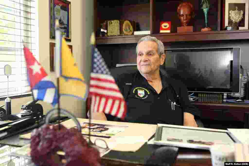 Félix Ismael Rodríguez, miembro de la Brigada 2506, quien participó en la captura de Ernesto Guevara en Bolivia en el año 1967, habla sobre el impacto del Museo de la Brigada de Asalto 2506.