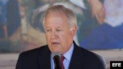 El subsecretario de Estado estadounidense Thomas Shannon, en una foto de archivo.