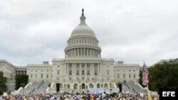Foto de archivo del Capitolio estadounidense.
