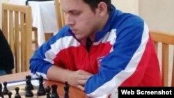 El joven ajedrecista cubano Carlos Albornoz. (Foto: Freddy Pérez Cabrera)