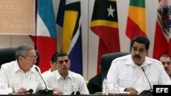 Inauguración de la cumbre extraordinaria del Alba sobre el ébola.