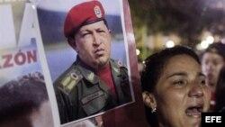 Chavistas muestran su dolor.