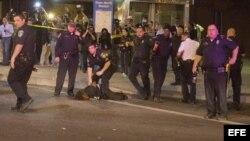 Baltimore, protestas. Archivo.