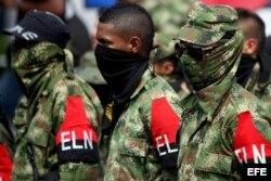 Miembros del ELN.