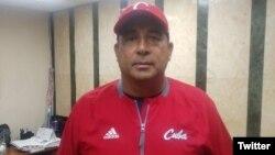 Yovani Aragón Rodríguez, exdirector nacional de Béisbol de Cuba. (Foto perfil de Twitter)