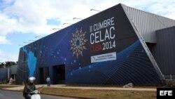 Sede de la Cumbre del CELAC en La Habana, Cuba.